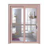 Puerta corrediza de aluminio de dos vías para la casa Duluxe