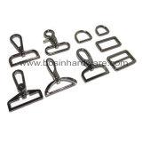 Металлические предметы антиквариата овальный Кольцо стопорное крюк для сумки