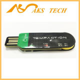 Registratore automatico di dati senza fili a gettare di temperatura del USB