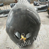 Caoutchouc gonflable ballon pour la construction de ponceaux