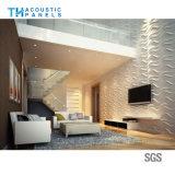 水補強のポリエステル線維の背景の壁のための内部の装飾的な3D健全な補強のボード