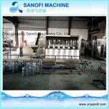 Automatische lineare 5 Gallonen-Zylinder-Flaschen-Wasser-Füllmaschine