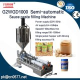 Halbautomatische pneumatische Füllmaschine für Tomatensauce (G2WGD1000)