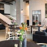 (SL8122)レストランの家具のための椅子を食事している北欧の木のウィッシュポーンY