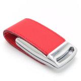 Flash promozionale del USB del cuoio del regalo di affari (YT-5116)