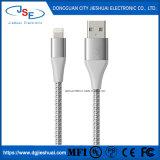 Mfi certifié 1m 2m 3m de câble du chargeur de la foudre tressé à usage intense pour iPhone 5 6 7 8 X L'iPad