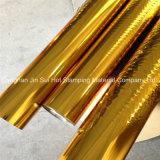 Feuille d'or Feuille d'estampage à chaud colorés pour carte de papier