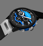 Correa de silicona personalizadas de gama alta moda Mens relojes hombre Cronógrafo reloj deportivo de lujo