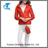 Модная ультра с капюшоном светлая скалозуба куртка вниз