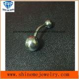 Krommen van uitstekende kwaliteit van de Navel van het Lichaam van het Titanium van het Lichaam de Doordringende Doordringende (NVL002)
