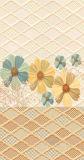 Azulejo de cerámica de la pared 30*60 del diseño de interior de la flor de China