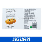 Private Skincare Products package label