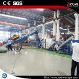 300 KringloopLijn van de Machine van de Was van de Fles van het Huisdier van de Prijs van kg/u de Goede Verpletterende Drogende Ontwaterende