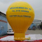 Balão à terra material forte de encerado do PVC para o anúncio superior do telhado