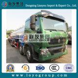 Caminhão de petroleiro do petróleo de HOWO T5g 12wheel 28m3 para a venda