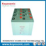 Batterie solaire de côté d'alimentation par batterie 2V 3000ah de longue vie en gros de l'usine