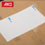 Étiquettes directes de logistique d'étiquettes d'expédition d'usine de bon des prix de visibilité papier élevé de desserrage
