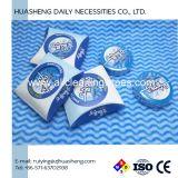 2cm-Diamter Natuurlijke Zachte Katoen Samengeperste die Handdoek 100% van Katoen of Viscose voor Vrouwen, Mannen, Babys, Schoonmakend Huis, Bureau wordt gemaakt
