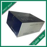 까만 색깔 출하 매트 박판을%s 가진 우송 수송용 포장 상자