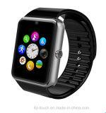 iPhoneおよびアンドロイド(GT08)のためのBluetoothの熱い販売のスマートな腕時計