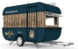 De beste Verkopende Kar van de Snack van het Voedsel van de Aanhangwagen van de Aanhangwagen van het Voedsel Verkopende Mobiele