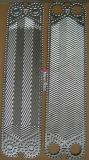 V20 ISO9000 증명서를 위한 열교환기 격판덮개