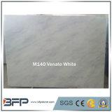 Le lastre del marmo di bianco cinese hanno tagliato in controsoffitti/mattonelle