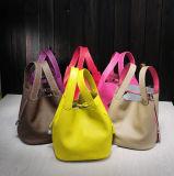 La signora di sacchetto di cuoio della mano delle donne di modo insacca l'OEM femminile del sacchetto di cuoio dell'unità di elaborazione della benna della borsa