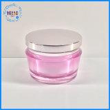 De kosmetische Kruik van de Room van de Verpakking van de Kruik In het groot 50g Kosmetische Acryl