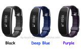 Pulsera elegante de moda de Bluetooth con el monitor del ritmo cardíaco (H29)