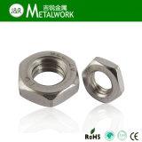Ecrou hexagonal en acier inoxydable DIN934