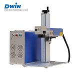 машина маркировки лазера волокна 20With50W для гравировки любимчика металла
