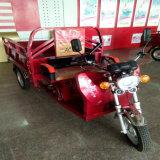 大きい貨物が付いている250cc土のバイク3の車輪のオートバイ