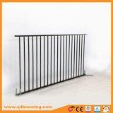 Puder-überzogener flacher Oberseite-Eisen-/Aluminiumswimmingpool-Zaun