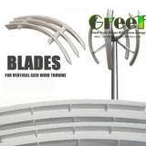 lâmina de 1/2/3//5/10kw Firberglass para a turbina de vento da linha central/gerador verticais