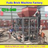 Máquina de construção de materiais de construção, máquina semi-automática de bloco de concreto semi-automática