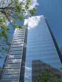 Mur-rideau à double vitrage Frameless et résidentiel à usage commercial et résidentiel