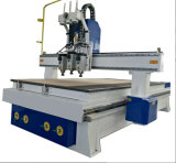 Heads Woodworking Furniture를 위한 Spindles를 가진 Efficiency 높은 Wood Door Making CNC Cutting Machine