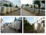 El tanque de almacenaje sanitario de la leche de la lechería del uso del alimento