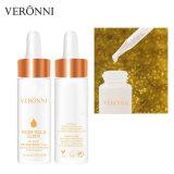 Veronni 24K закрывается золотая фольга Увлажняющая с ручной заливочный насос подпитки масла по уходу за кожей суть
