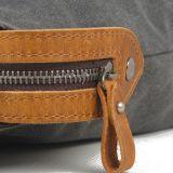 Borse del cuoio della tela di canapa di modo (RS-2012-AA)