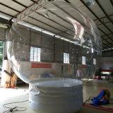 Kundenspezifischer im Freien aufblasbarer Schneeball für Ausstellung