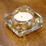 Diverse Ambacht van de Kaarsenhouder van het Glas van het Kristal van de Vorm voor de Decoratie van de Gift
