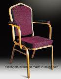 Banquetes Hotel aluminio silla con reposabrazos