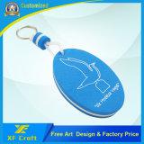 Anello portachiavi personalizzato poco costoso di promozione di EVA con qualsiasi marchio (KC-E01-B)