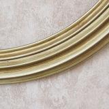 최신 판매 둥근 나무 앙티크 금 둥근 짜맞춰진 벽 미러