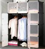 거실 옷장 내각 판매, 옷 걸이 폴란드 의 싼 접히는 PP 위원회 DIY 침실 옷장 (EP-07)를 가진 플라스틱 옷장