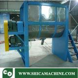 Horizontale Mischer-Plastikmaschine für Plastikkörnchen und Puder