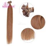 K.S Wigs 6A 인도 Remy Virigin Human Hair U TIP Hair Extensions
