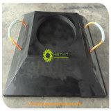 Rilievo dell'intelaiatura di base della gru del piede della gru del Jack UHMWPE dello stabilizzatore del rimorchio